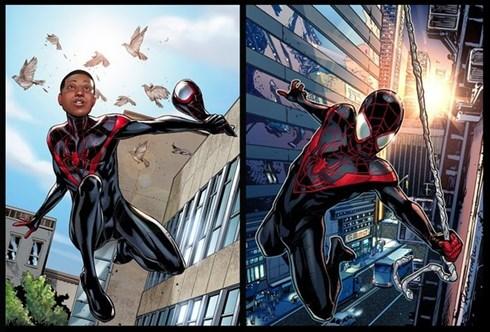 Hình tượng Spider Man lần này được Sony và Marvel bật mí đến 95% sẽ là một người da đen.