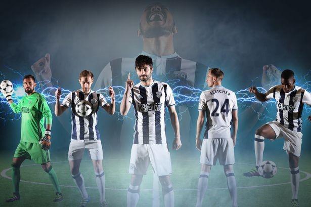 West Brom gây ấn tượng với poster quảng bá cho áo thi đấu sân nhà mùa giải tới.