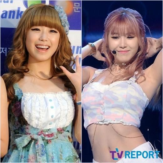 Jun Hyo Sung hiện đang được ca tụng là một trong những nữ thần sexy của làng K-Pop. Tuy nhiên, cô nàng cũng đã khá vất vả để có được vóc dáng như ngày hôm nay.