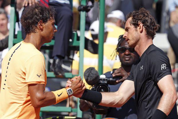 Cuộc đối đầu giữa Nadal và Murray là tâm điểm của vòng bán kết Madrid Open 2016