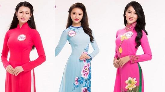 Hình ảnh 3 thí sinh vừa xin rút khỏi cuộc thi Hoa hậu Việt Nam 2016.