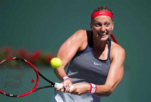 Petra Kvitova cũng rời Miami sớm (Ảnh: Getty)