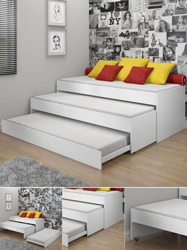 Giường nhiều tầng là gợi ý hữu ích cho nhà chật