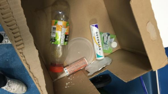 Loại thuốc Guronsan trong thùng rác phòng thay đồ của ĐT Pháp