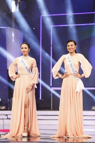 Thanh Thư và Việt An chính thức bước vào vòng thi ứng xử để xác định được ai sẽ là người ra về và ai tiếp tục ở lại Lâu đài sắc đẹp.