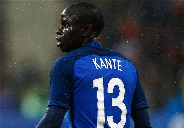 Kante vừa thi đấu tại EURO 2016