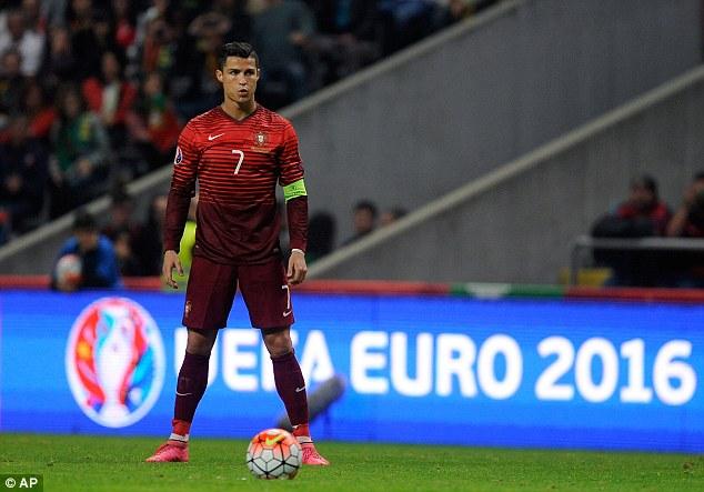 Hàng loạt kỷ lục đang chờ Ronaldo thiết lập ở trận đấu giữa Bồ Đào Nha - Áo. Ảnh: UEFA