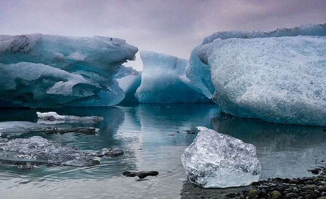 Khu vực bờ biển của Iceland có khí hậu ôn đới hải dương lạnh
