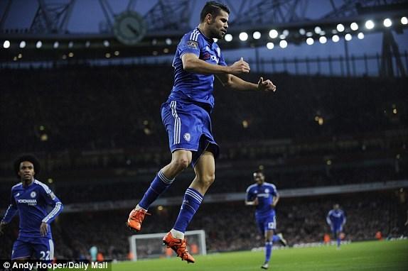 Diego Costa: khắc tinh mới của Arsenal