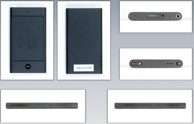 Concept iPhone với thiết kế vuông vức, bo tròn hai cạnh bên giống iPod Nano