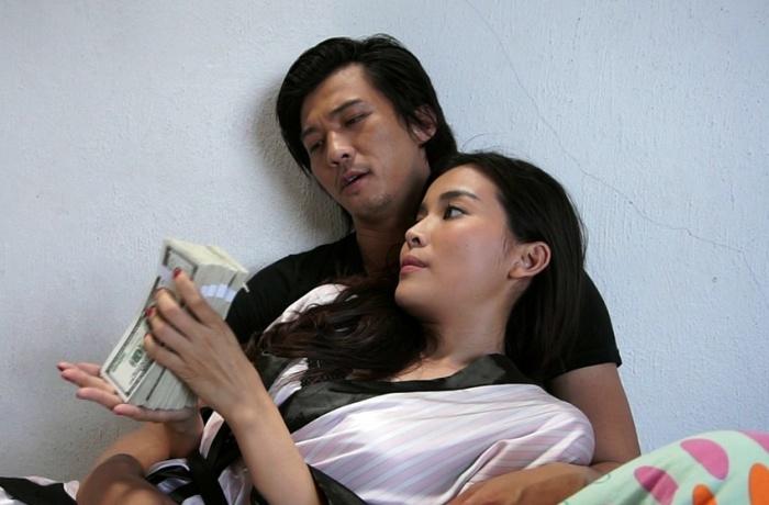 Cao Thái Hà và Hà Việt Dũng (vai Bảo Lâm - con ông Đồng)