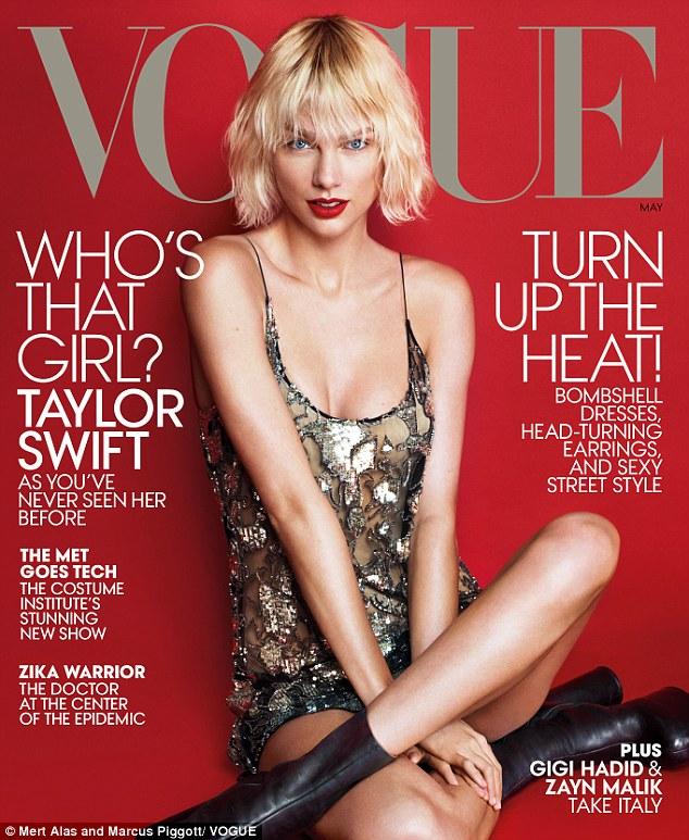 Taylor Swift trên bìa tạp chí Vogue