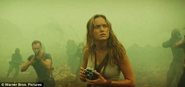 Thiên thần tóc vàng Brie Larson