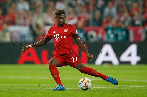 Hậu vệ: David Alaba (Bayern Munich, 1992).