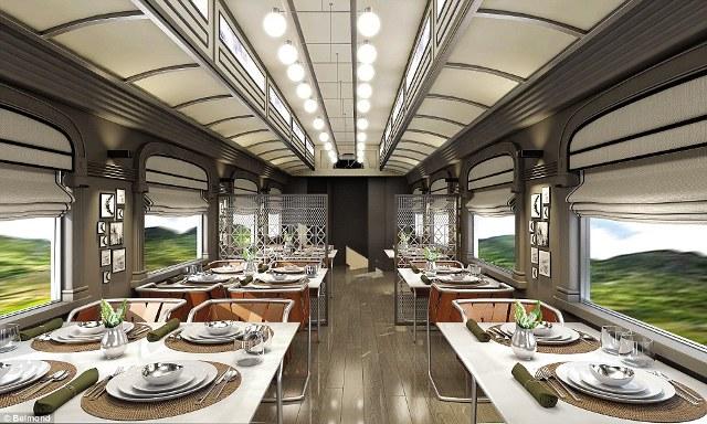 Các đầu bếp của khách sạn Belmond, Monasterio, Cusco sẽ phục vụ hành khách các món ăn sử dụng nguyên liệu địa phương từ vùng Andes, Peru.