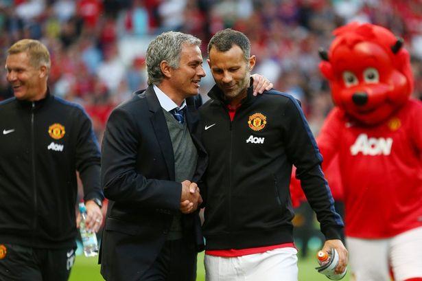 Ryan Giggs sẽ có cơ hội cộng tác với Mourinho từ mùa giải năm sau (Ảnh: MEN)