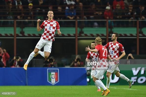 Croatia đang bay cao tại EURO 2016 với màn trình diễn ấn tượng, kết tinh từ lối chơi tập thể đầy hiệu quả. Ảnh: Getty