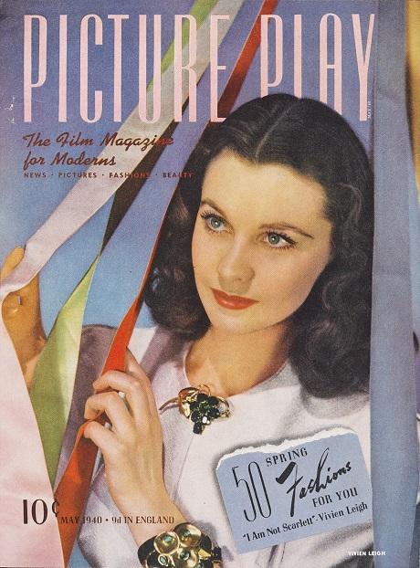 Vivien Leigh xuất hiện trên trang bìa một tờ tạp chí hồi tháng 5/1940.