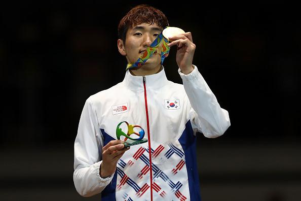 5/ Park Sang-young (Kiếm ba cạnh cá nhân nam - Hàn Quốc)