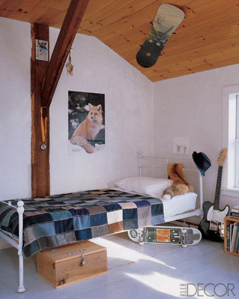 Một căn phòng đơn giản mang màu sắc riêng của chủ nhân.