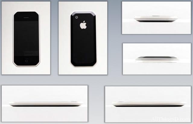 Concept iPhone với các góc cạnh ấn tượng