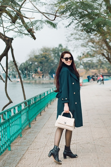 Siêu mẫu Trang Nhung (Ảnh: Gia Huy)