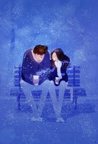 Dành thời gian cuối ngày bên nhau trong giá lạnh bởi vì bạn không muốn về nhà mà không có nhau.