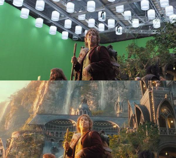 Bộ phim The Hobbit với khung cảnh đẹp huyền ảo thực tế chỉ là thế này.