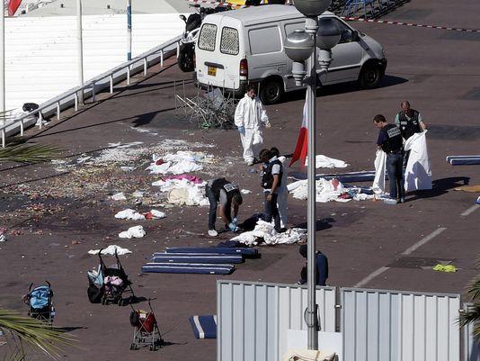 Vụ tấn công tại Nice đã khiến 84 người thiệt mạng (Ảnh: ALBERTO ESTEVEZ, EPA)