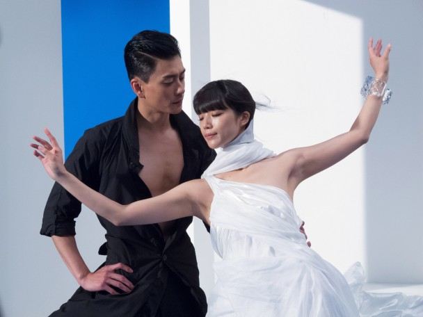 Huỳnh Tông Trạch quen Jun khi đóng chung phim quảng cáo (Ảnh: ihktv.com)