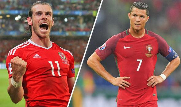 Cuộc đối đầu giữa Bale - Ronaldo tại bán kết EURO 2016 rất đáng chú ý.