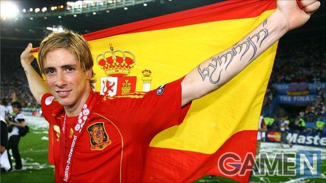 Torres luôn mang lại may mắn cho ĐT Tây Ban Nha trong các trận chung kết.