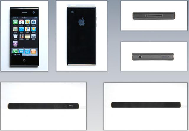 Concept iPhone với thiết kế vuông vức và chắc chắn