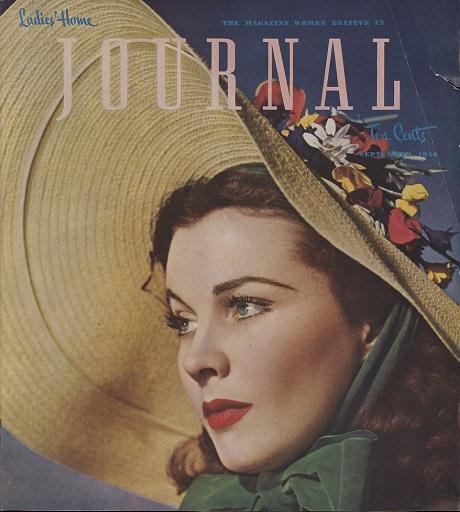 Vivien Leigh trên trang bìa một tờ tạp chí hồi tháng 9/1940.