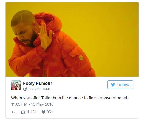 Khi bạn cho Tottenham cơ hội xếp trên Arsenal...