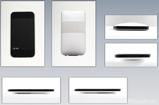 Concept iPhone với mặt lưng cong