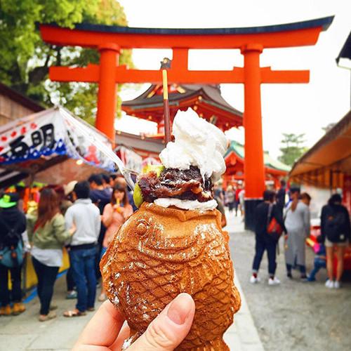 Kem cá ở Nhật.