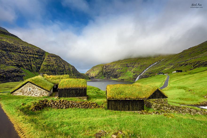 Làng Saksun, Streymoy, quần đảo Faroe