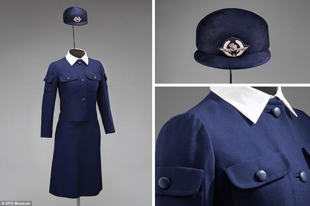 Năm 1969, các nữ tiếp viên hàng không của Air France (Pháp) bắt đầu diện trang phục mùa đông của nhà thiết kế người Tây Ban Nha Cristobal Balenciaga.
