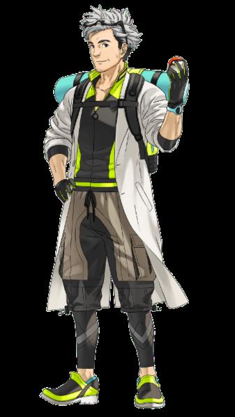 Giáo sư Willow trong Pokémon GO