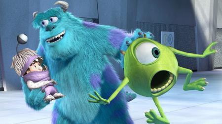 """Bộ phim """"Công ty Quái vật"""" của hãng Pixar cũng có cùng năm ra mắt với """"Nhật ký công chúa"""". Vào năm 2013, Pixar đã cho ra mắt phần phim tiếp theo với tên gọi """"Lò đào tạo quái vật""""."""