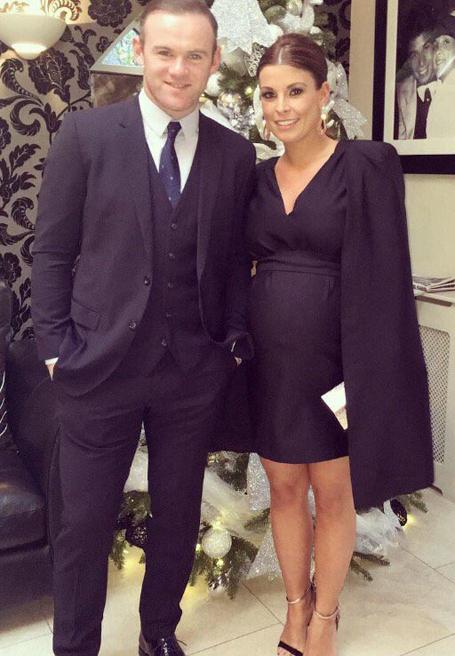 Wayne Rooney bên cô vợ Coolen