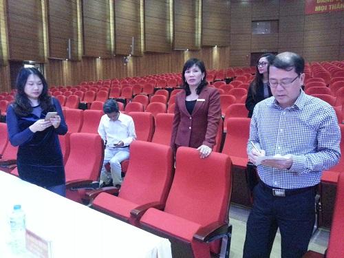 Đoàn công tác của Đài THVN khảo sát các địa điểm tại Lào Cai để tổ chức LHTHTQ 36
