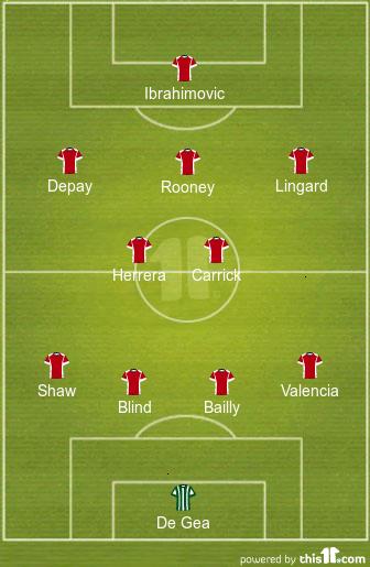 Đội hình dự kiến của Man Utd vào rạng sáng mai