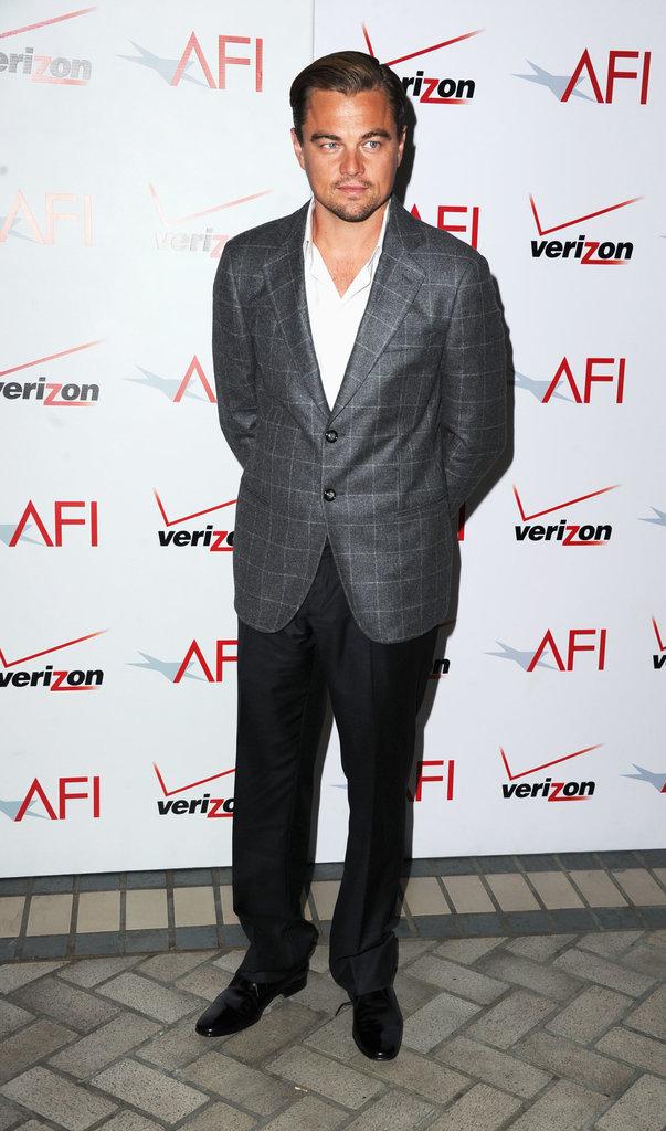 Nam diễn viên không kém phần phong độ ở AFI Awards 2012.