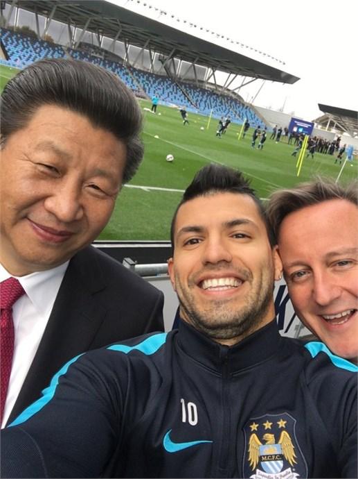 Aguero (Manchester City) cũng được các đội bóng tại Trung Quốc nhòm ngó