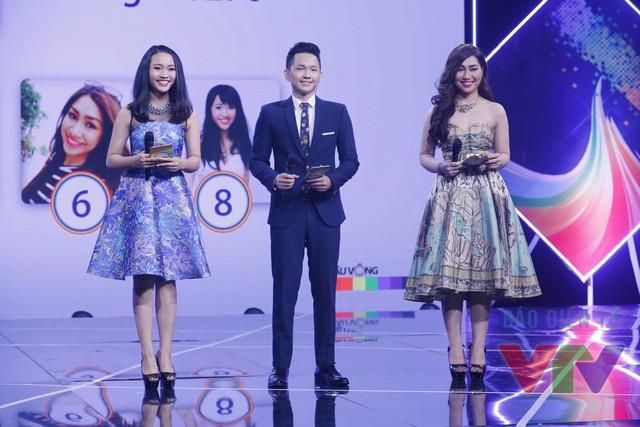 Top 3 Cầu vồng 2015 lĩnh vực MC (Ảnh: Thanh Huyền)