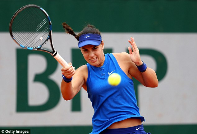 Ana Konjuh, 18 tuổi, Croatia, hạng 107 thế giới