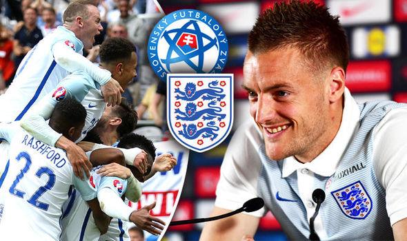 Vardy ra sân và ghi bàn đang đem đến rất nhiều hi vọng cho người Anh trong trận gặp Slovakia.