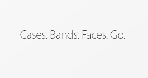 Người dùng có thể tùy chọn vỏ đồng hồ, dây đeo và mặt đồng hồ trong Apple Watch Gallery